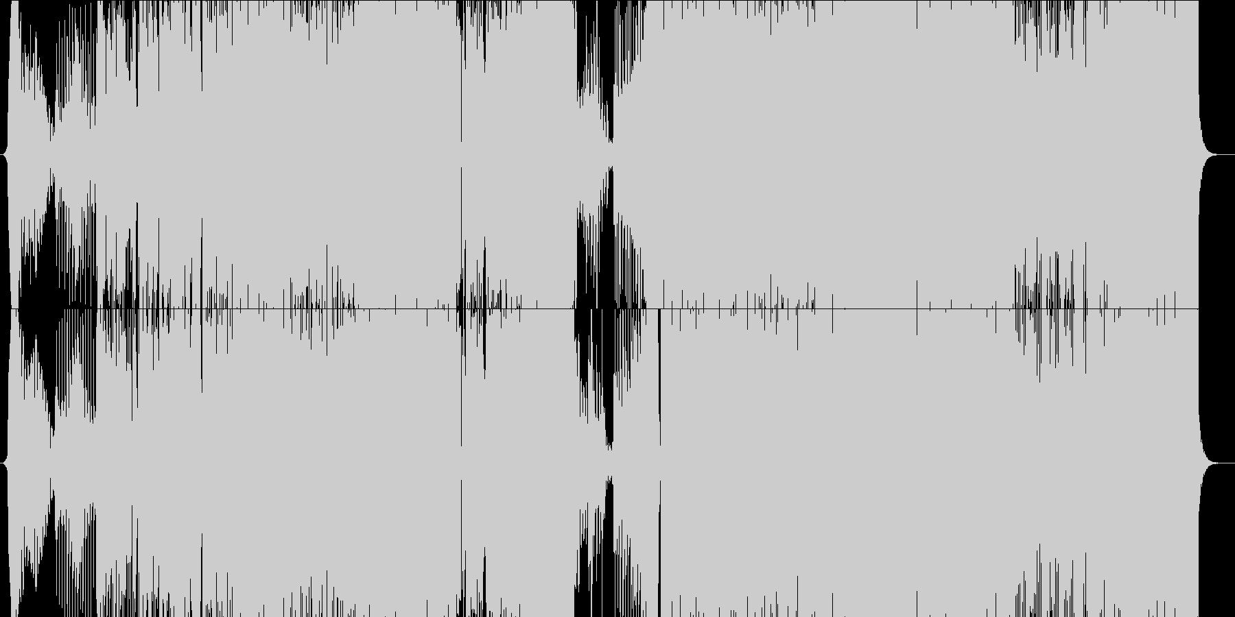 異次元戦闘 魔法×魔法 ダブステップの未再生の波形