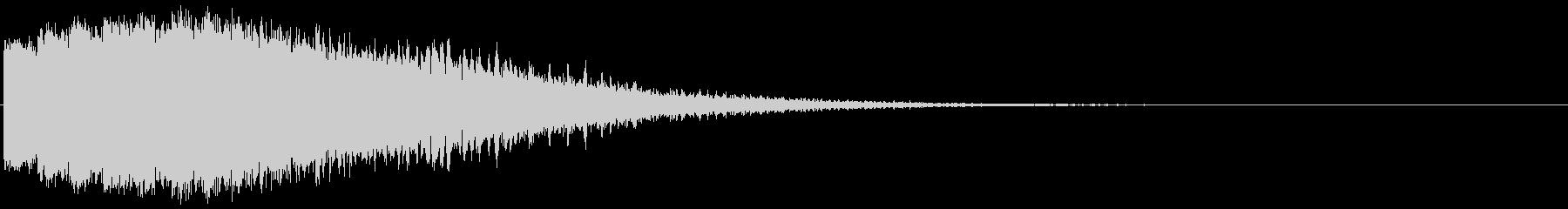 ダメージ音03(魔法・電子系)の未再生の波形