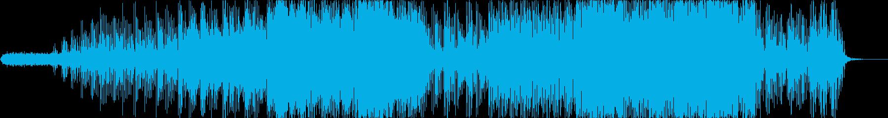 ひとけのない電子的なアンビエントの再生済みの波形