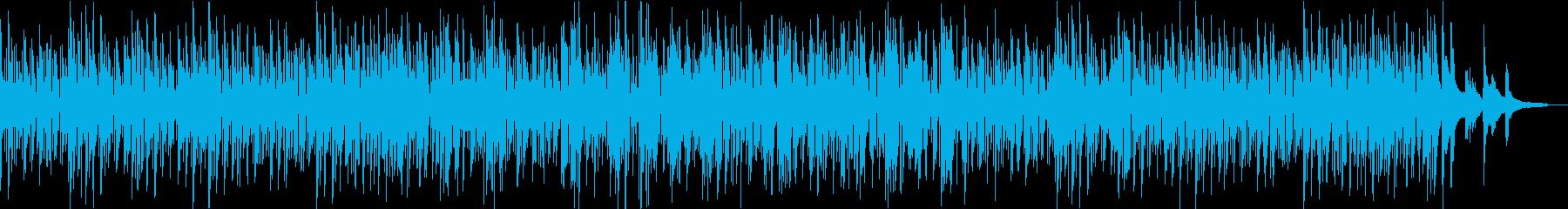 お洒落なボサノバでガーシュイン名曲の再生済みの波形