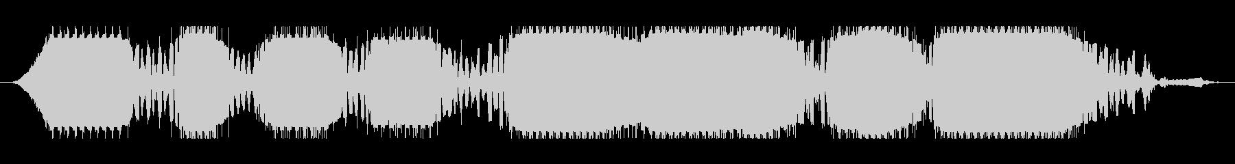 通信ポッド:歪んだ信号の戻り:変動...の未再生の波形