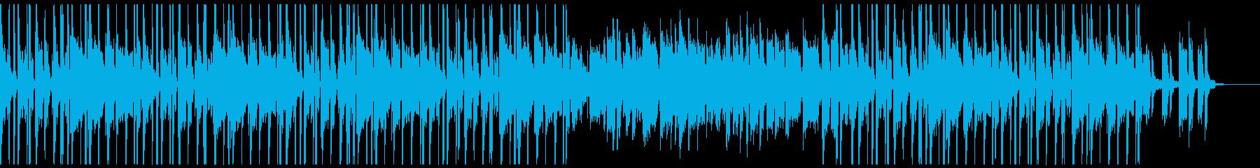 シンプルな電子ピアノR&Bフレーズの再生済みの波形