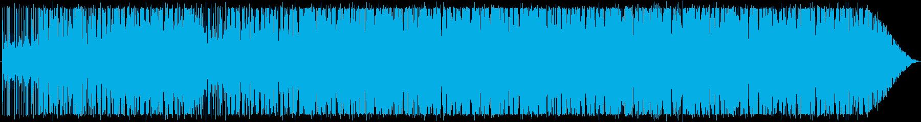 カッティングギターでシンプルフレーズ。の再生済みの波形