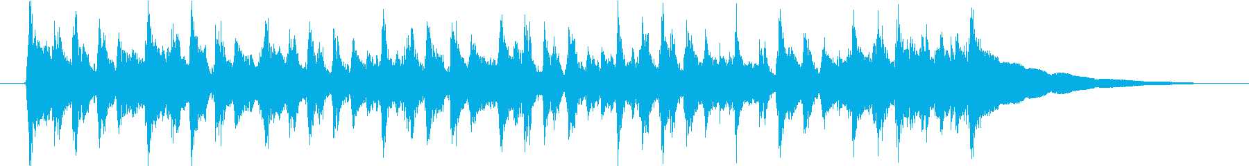 幸せな日常 BGMの再生済みの波形