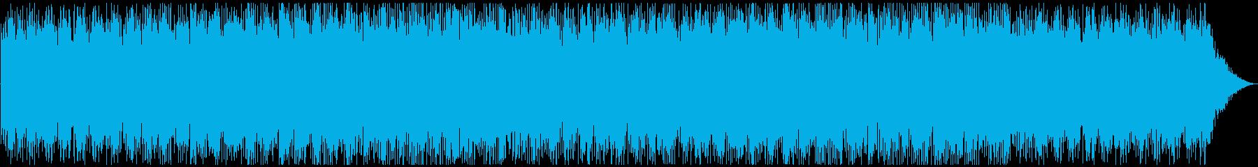 教育向けの明るく前向きなテクノポップ音楽の再生済みの波形