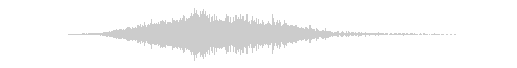 特撮 ホログラム表示07の未再生の波形