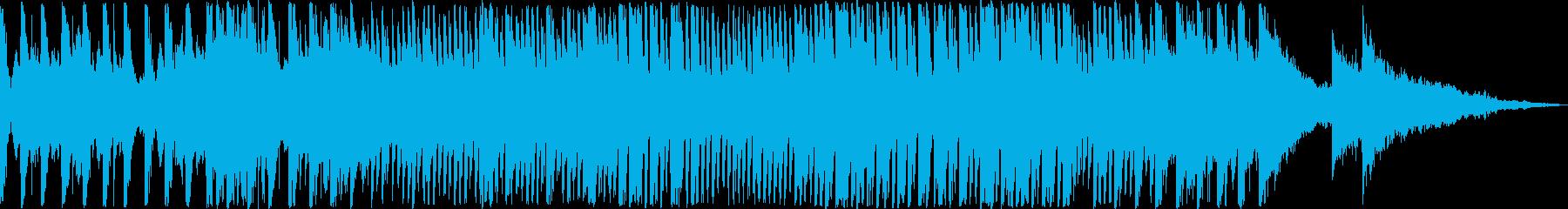 力強く神秘的!アイコニックなオーケストラの再生済みの波形