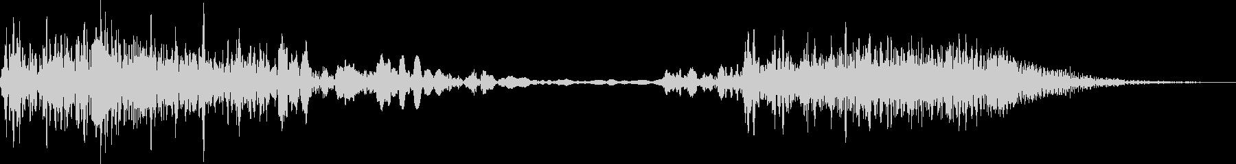 モーターフィルターエアヒューシュ2...の未再生の波形