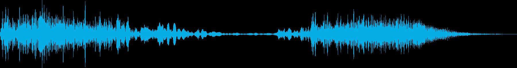 モーターフィルターエアヒューシュ2...の再生済みの波形