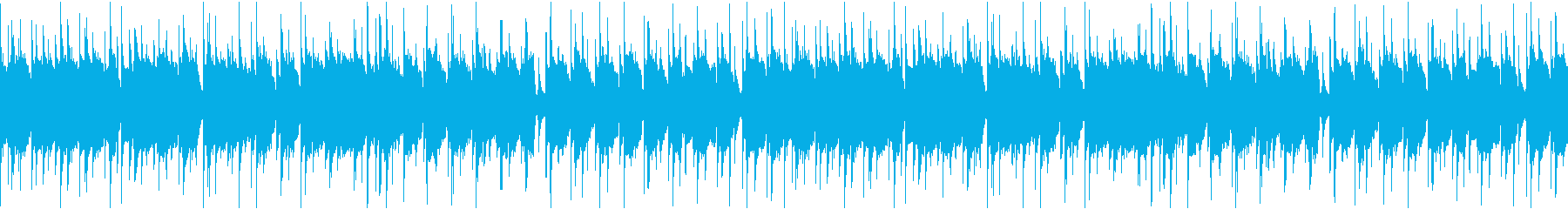 ウクレレとギターのほのぼのとしたポップスの再生済みの波形