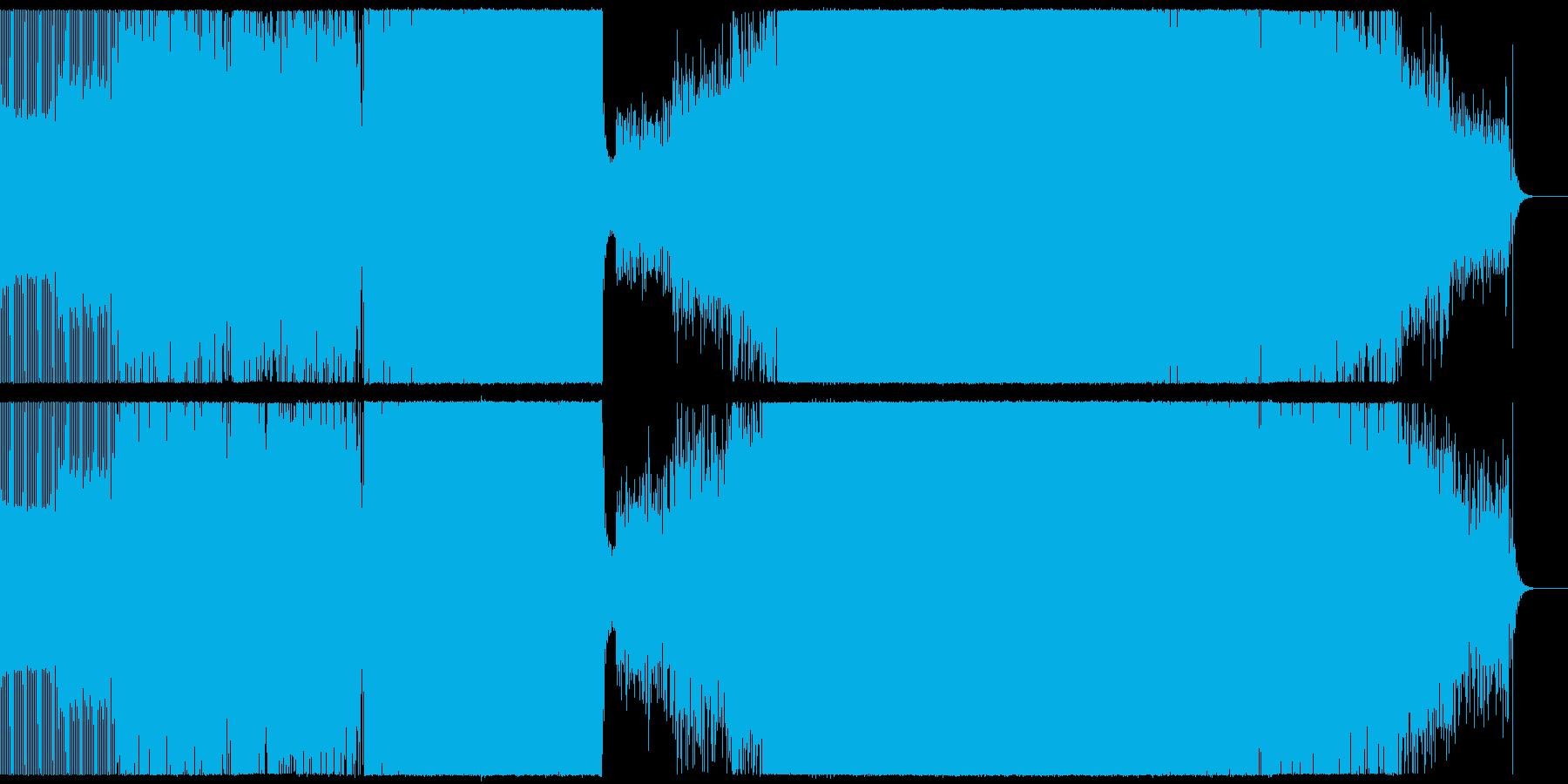 クラブ/ハウスの再生済みの波形