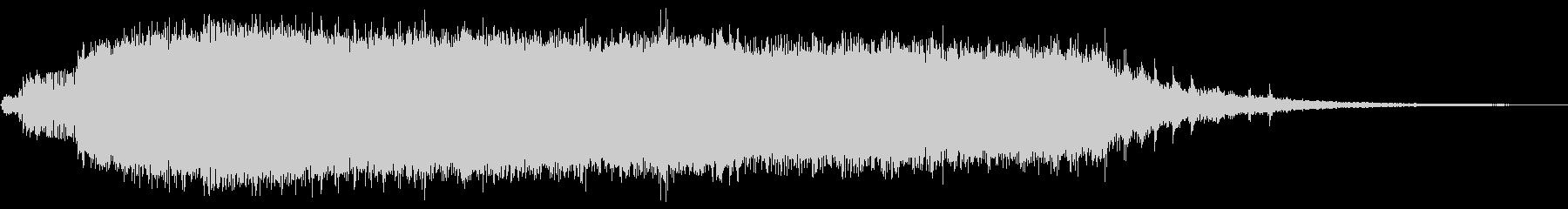 KANT怪獣の鳴き声Long6の未再生の波形