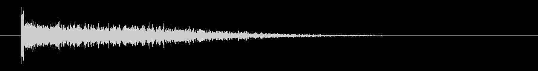 レーザー音-62-3の未再生の波形