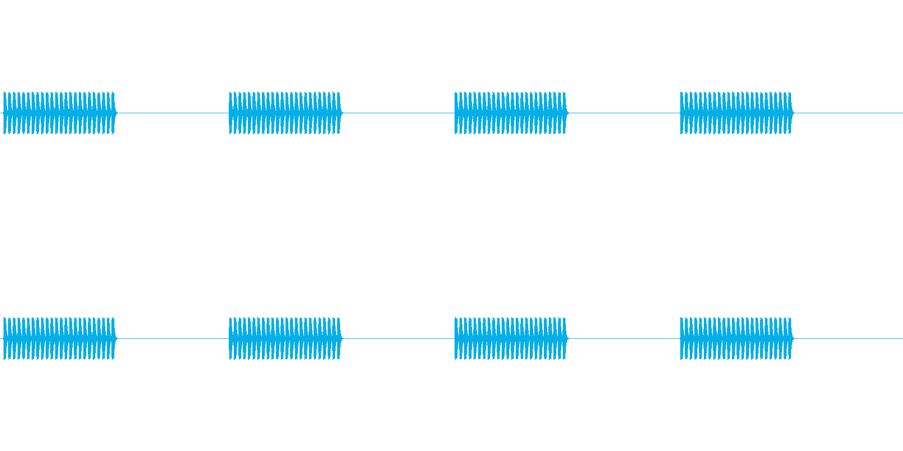 【携帯電話 着信音01-1L】の再生済みの波形