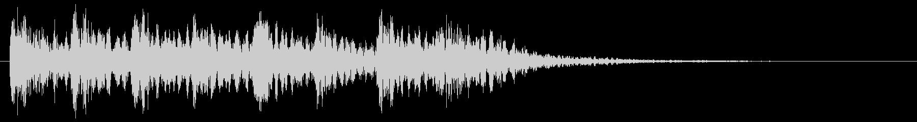 ミステリアスな音 不思議 怪しい 不安の未再生の波形