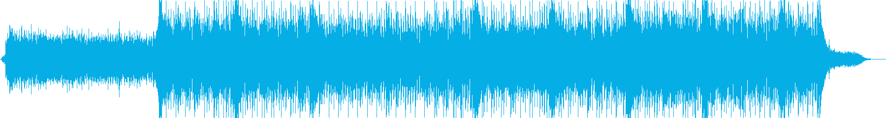 Strings BGM with a gorgeous image's reproduced waveform