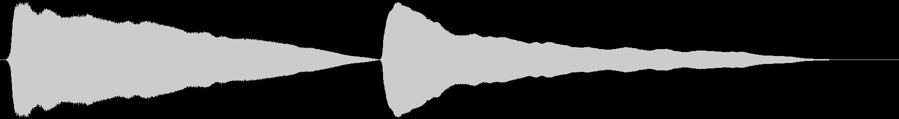 とうふ屋ラッパ(トゥ~フゥ~)の未再生の波形