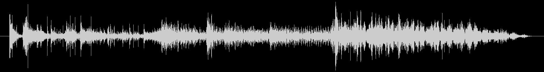 シャープピアススタティック2の未再生の波形