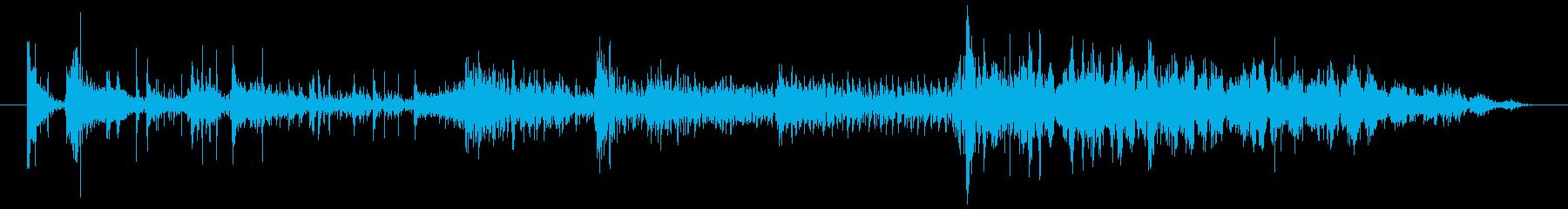 シャープピアススタティック2の再生済みの波形