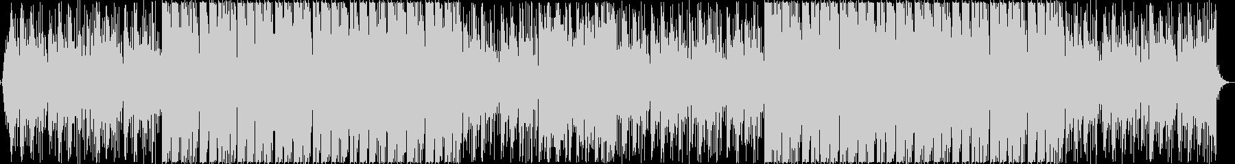 切ないエレクトロBGMの未再生の波形