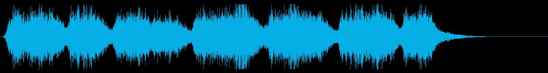インテリア教会の再生済みの波形