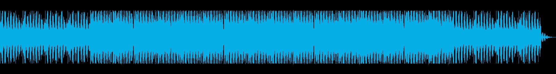 マイナーでダークなユーロビートポップの再生済みの波形