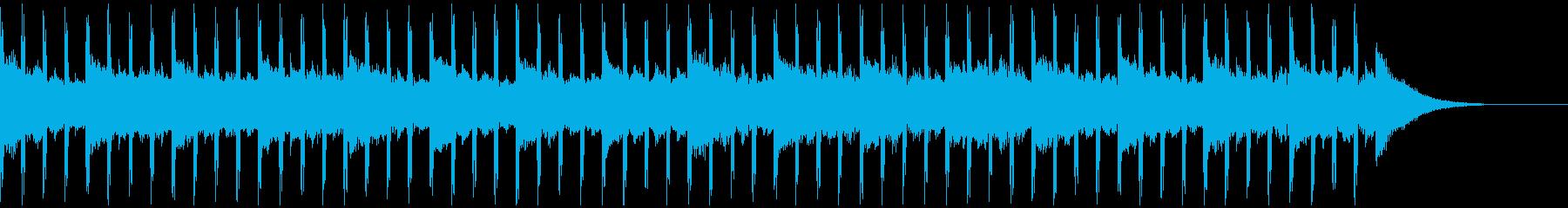 スタートアップ(30秒)の再生済みの波形