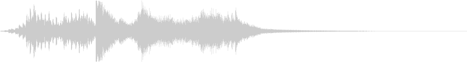 和風ジングル10秒(琴/流し爪)の未再生の波形