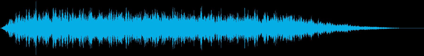 【ダークアンビエント】ホラーBGM_02の再生済みの波形