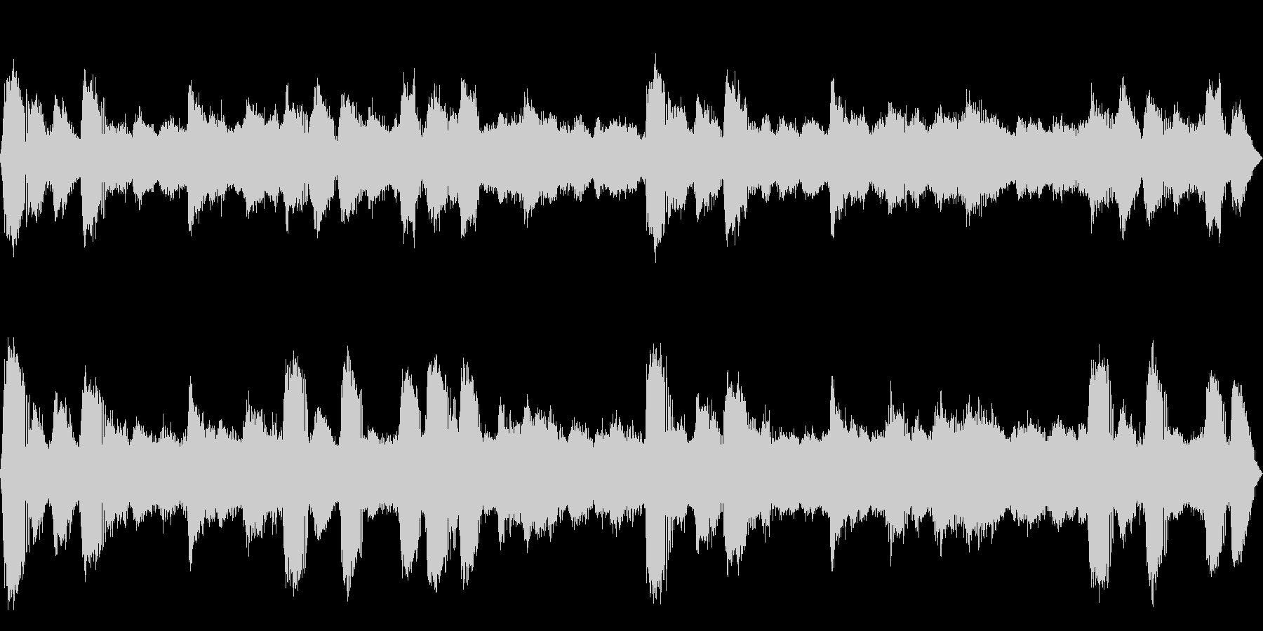 [疑似立体音響]ヒグラシの鳴く森03の未再生の波形
