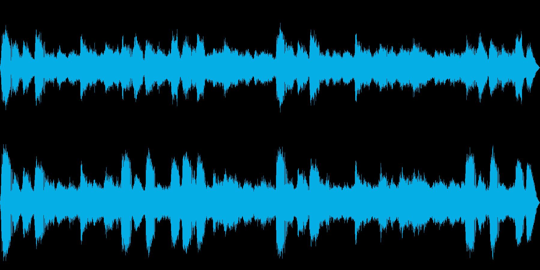[疑似立体音響]ヒグラシの鳴く森03の再生済みの波形
