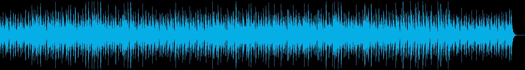 カリンバ、ほのぼの思い出、オールディーズの再生済みの波形