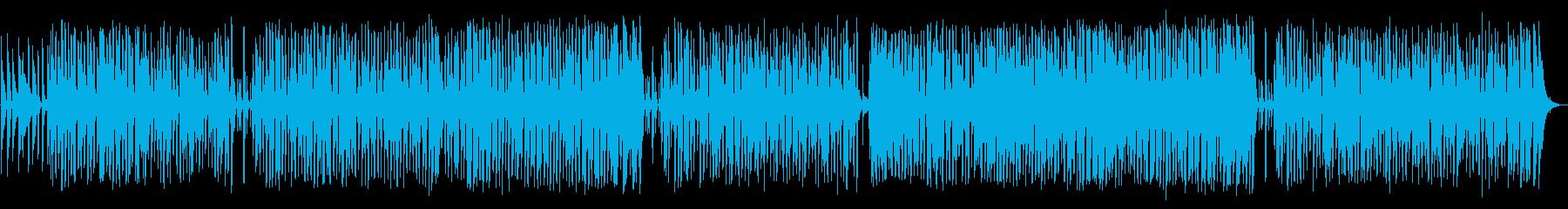 ピアノが印象的なスムースジャズの再生済みの波形