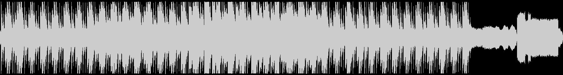 静かな暗い森をイメージした曲 ループ版の未再生の波形
