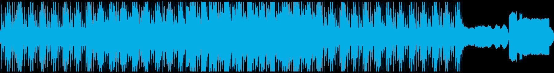 静かな暗い森をイメージした曲 ループ版の再生済みの波形