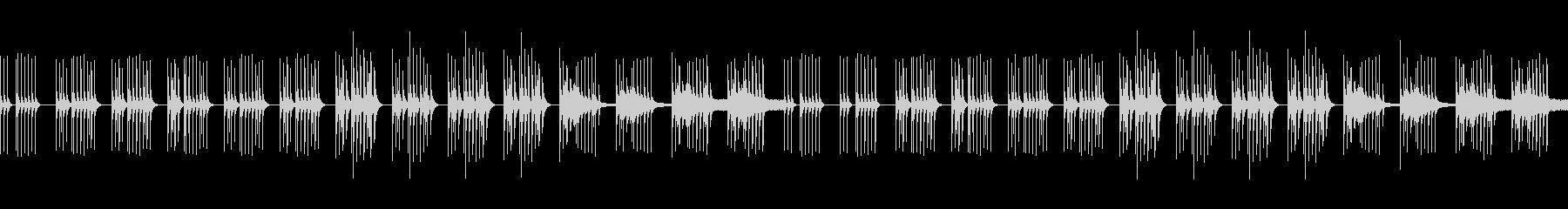 ほのぼのコミカルな日常系BGMの未再生の波形
