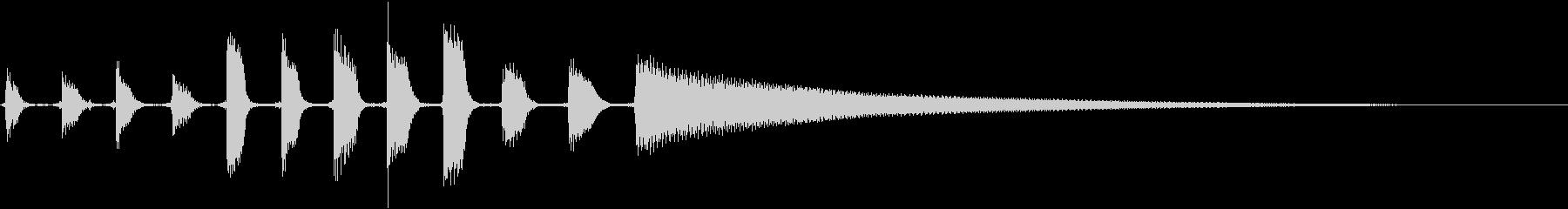エレクトリックギター:ショート、ミ...の未再生の波形