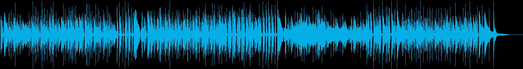 カフェ系ピアノジャズでおしゃれかっこいいの再生済みの波形