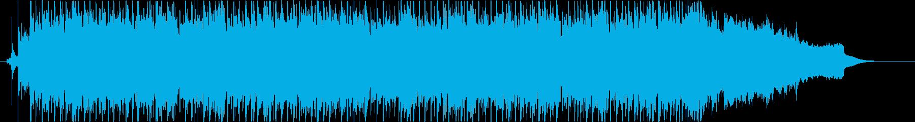 感動系ミディアムポップスの再生済みの波形