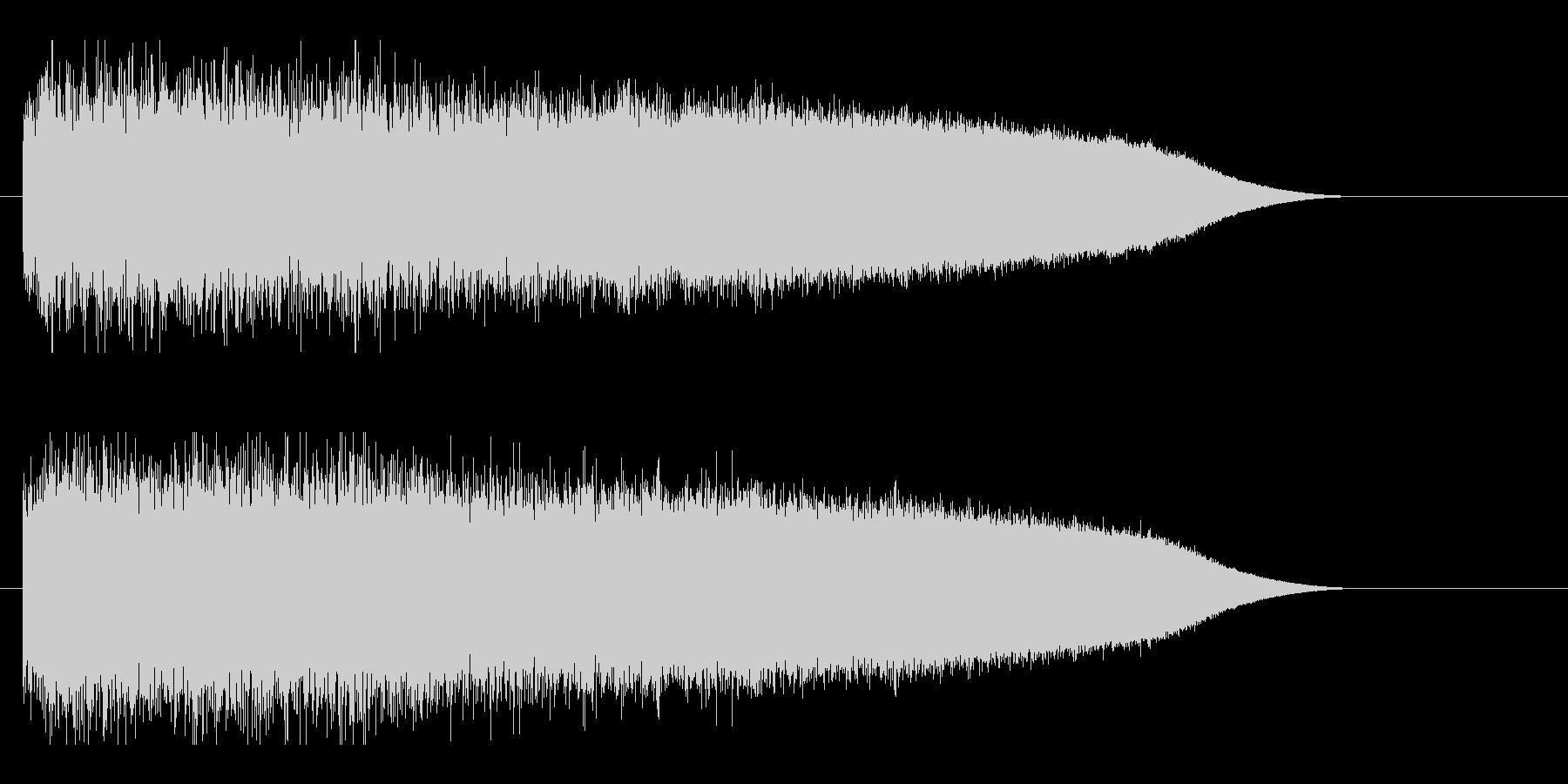 レーザー音-88-3の未再生の波形
