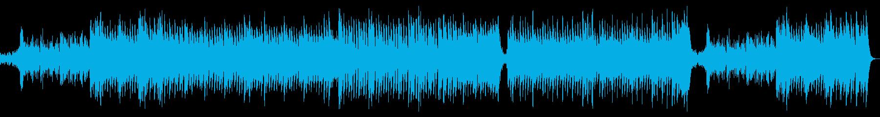 明るく華やかポップオーケストラ:弦ドラムの再生済みの波形
