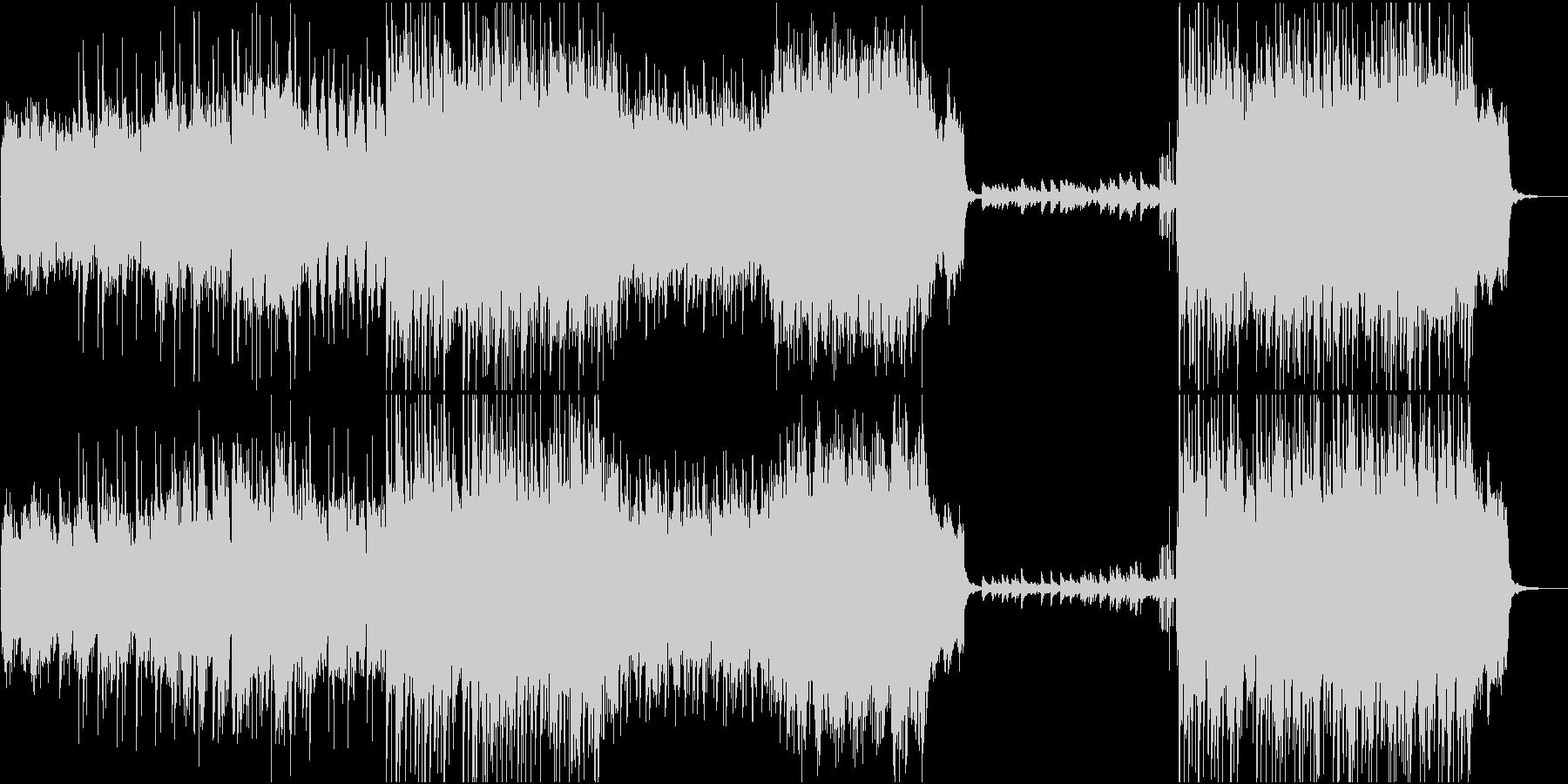 ハープが美しい森のオーケストラの未再生の波形