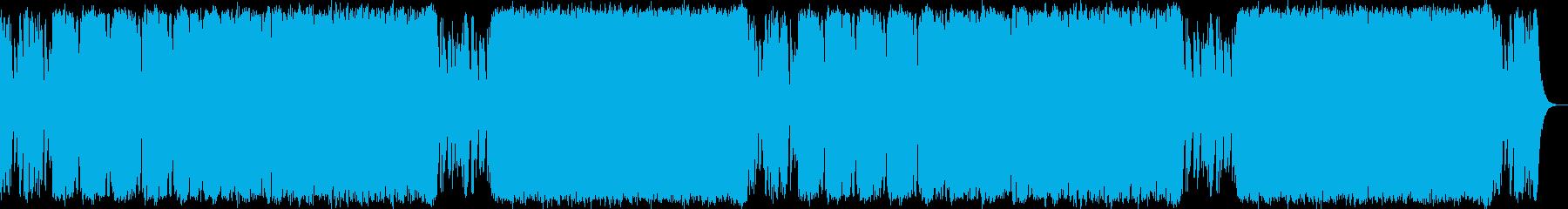 悪が蔓延る支配 サイコオーケストラマーチの再生済みの波形