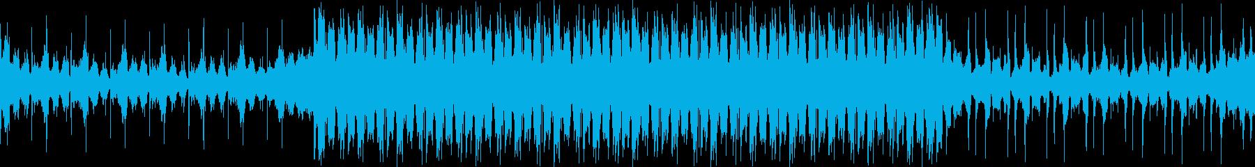 VP、CM、クールで穏やか透明感ループbの再生済みの波形