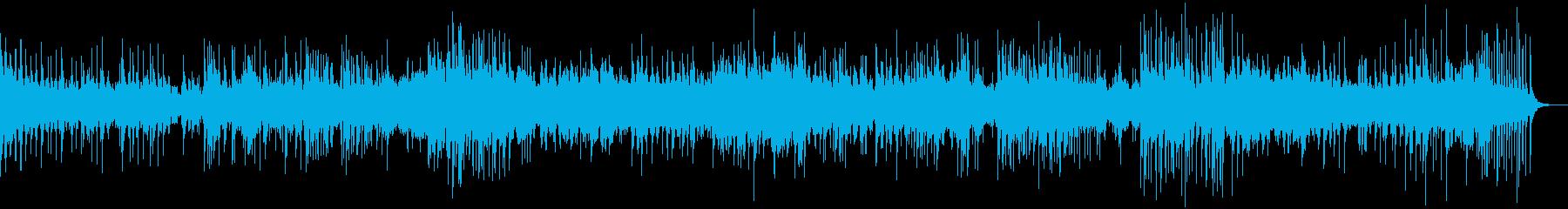 4分ソング 沖縄調 ゆったりした三線の再生済みの波形