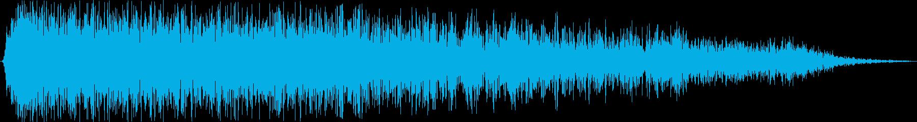 火炎放射器:ヘビーブラストの再生済みの波形