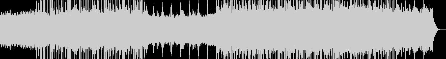 雄大なチルアウトミュージック。の未再生の波形