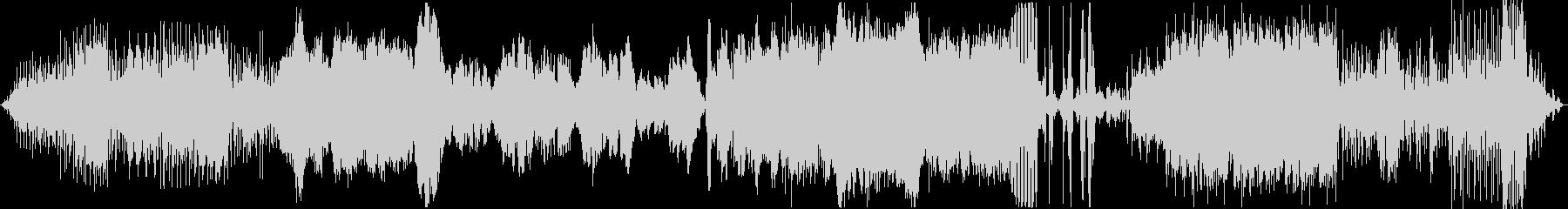 土着的なリズムを感じるアンビエント曲の未再生の波形