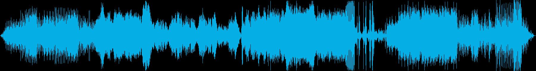 土着的なリズムを感じるアンビエント曲の再生済みの波形