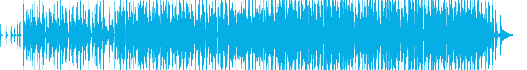 【宣伝CM用】ほのぼの明るくて楽しい曲の再生済みの波形